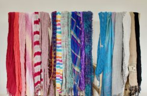 Some of my favourite scarves.