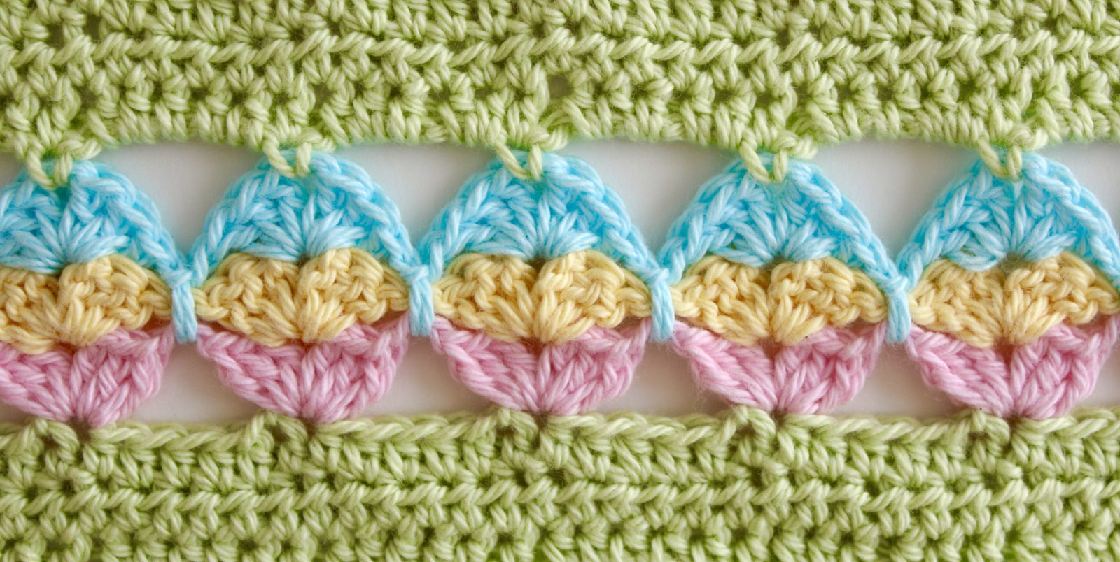 Egg Hunt blanket closeup.