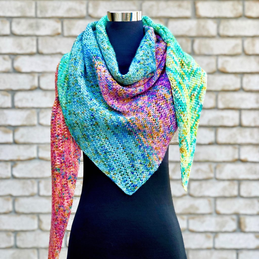 Daydreamer Shawl - Vivid Kreations - 1