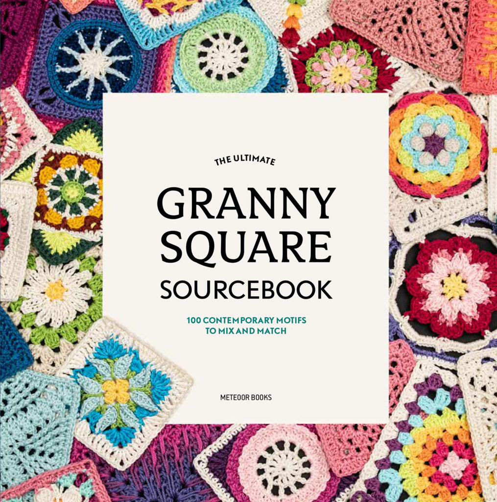 Front cover of the book the Ultimate Granny Square Sourcebook